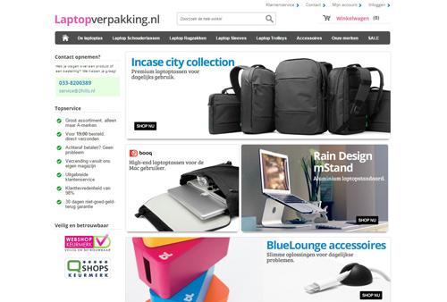 Laptopverpakking.nl - laptoptassen en meer