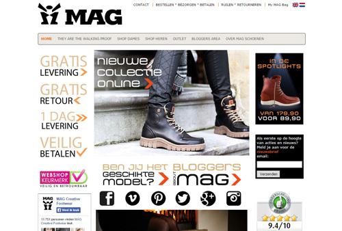MAG.nl - de nieuwste collectie MAG schoenen