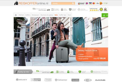Reiskofferonline.nl - de online reisartikelen specialist