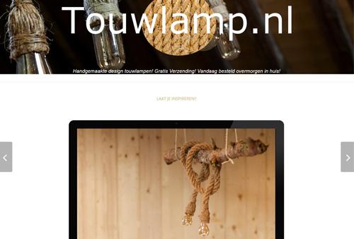 Touwlamp.nl - handgemaakte design touwlampen