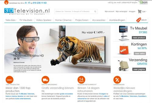 3DTelevision.nl - TV, elektronica en TV meubels
