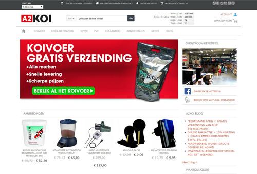 A2koi.nl - #1 online koi en vijver winkel
