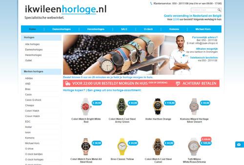 Ikwileenhorloge.nl - het grootste assortiment trendy horloges