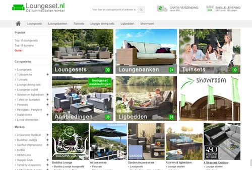 Loungeset.nl - tuinmeubelen om van te genieten