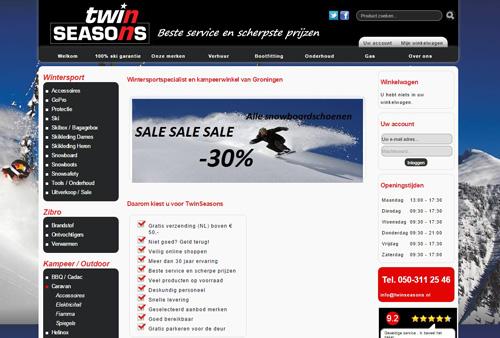 TwinSeasons.nl - de online wintersportspecialist en kampeerwinkel