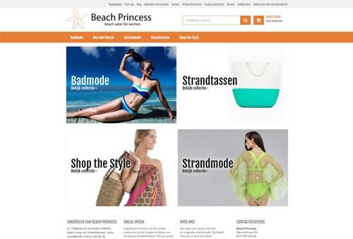 Beachprincess.nl - leuke, stijlvolle en originele bad- en strandmode