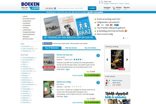 Boeken.com - meer dan 100.000 boeken en e-books