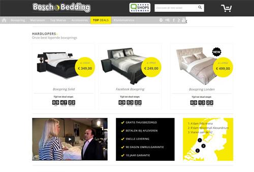 Boschbedding.nl - betaalbare luxe: boxsprings vanaf €249,-