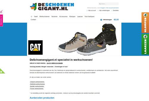 DeSchoenengigant.nl - gespecialiseerd in werkschoenen