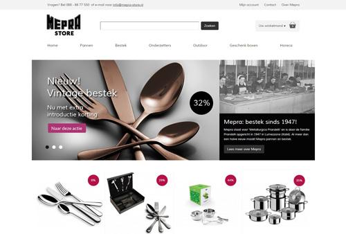 Mepra-store.nl - Italiaanse design pannen en bestek sinds 1947