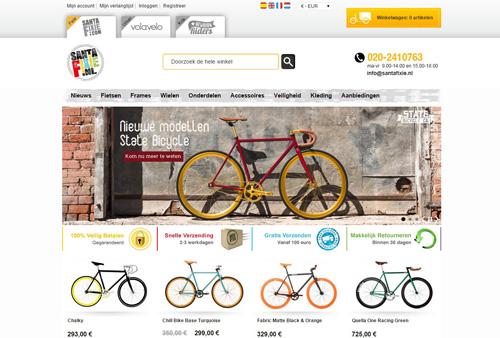 Santafixie.nl - dé webshop voor fixed gear bikes