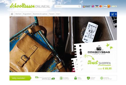 Schooltassen-online.nl - trendy schooltassen van topmerken