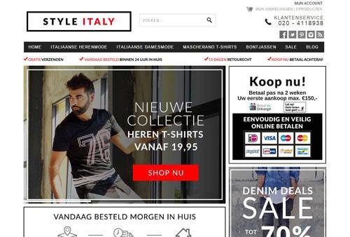 StyleItaly.nl - Italiaanse kleding en designmode