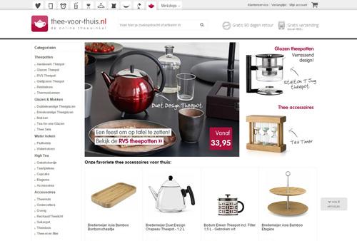 Thee-voor-thuis.nl - alles voor de echte thee liefhebber
