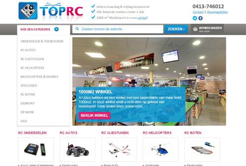 TopRC.nl - RC auto's, vliegtuigen, boten, drones en meer