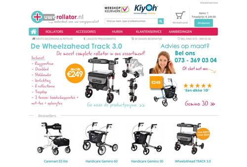 Uw-rollator.nl - dé online rollator winkel van Nederland