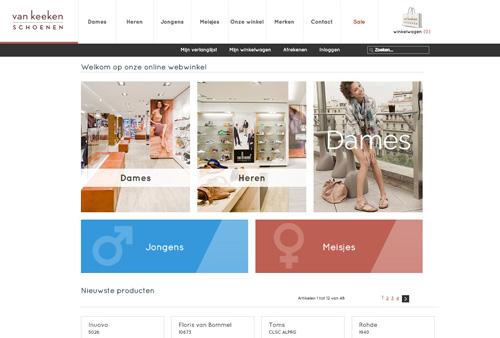 Vankeekenschoenen.nl - de online schoenenwinkel met de beste schoenmerken