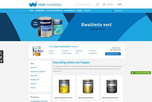 Verf-voordeel.nl - hoogwaardige kwaliteit verf met hoge kortingen