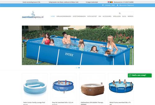 Zwembadexpress.nl - je eigen opblaaszwembad, opzetzwembad of spa