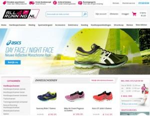 All4running.nl - allround online en offline hardloopwinkel