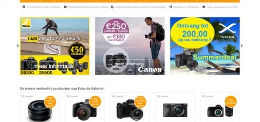 Fotodevakman.nl - de Canon en Nikon Pro Dealer met internetprijzen