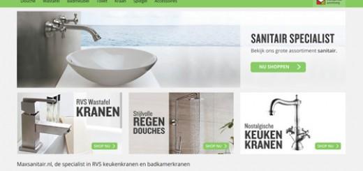 Maxsanitair.nl - de RVS sanitair specialist