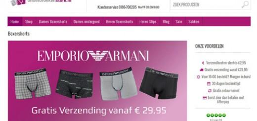 Onderbroekenstore.nl - comfortabel ondergoed met een betaalbaar prijskaartje