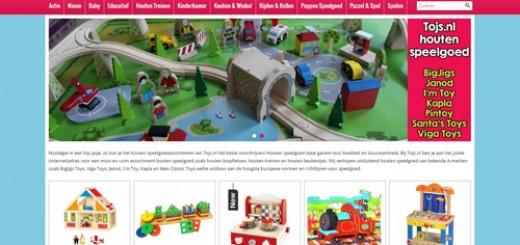 Tojs.nl - houten speelgoed tegen internetprijzen