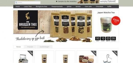 VanBruggenThee.nl - meer dan 150 soorten thee